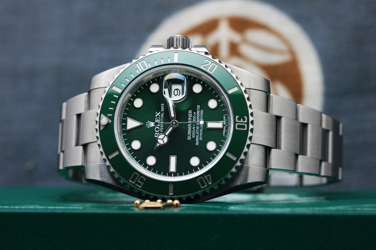 Green Submariner Date Ref 116610LV