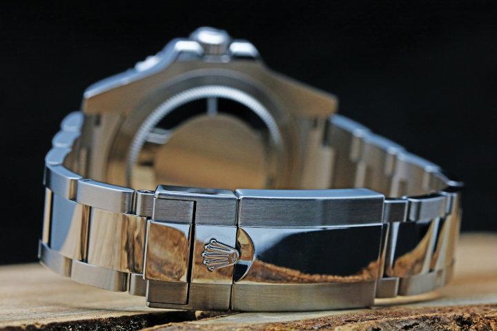 ロレックス GMTマスター2 青×黒 自動巻き ランダム 中古品 クロノメーター搭載 3タイムゾーンGMT 日付
