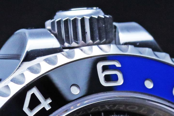 Rolex GMT MASTER II Black and Blue Ceramic