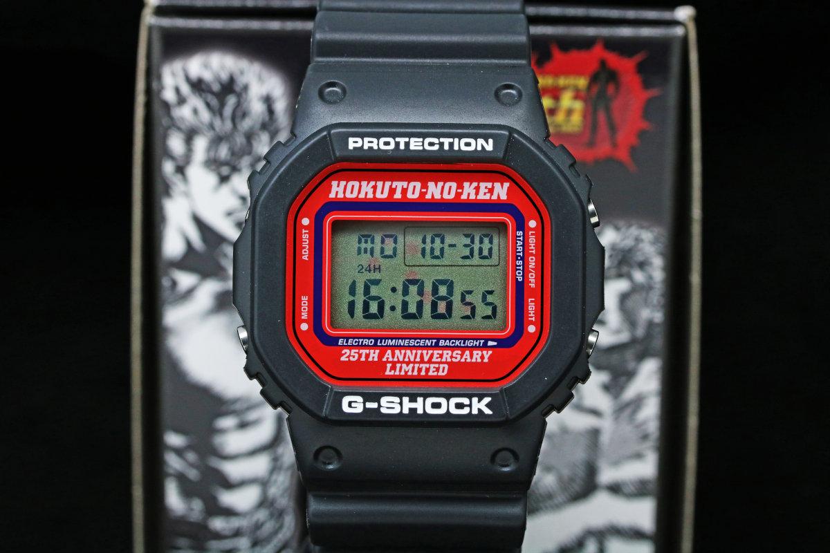 G-shock 北斗の拳 25th記念モデル DW-5600-VT