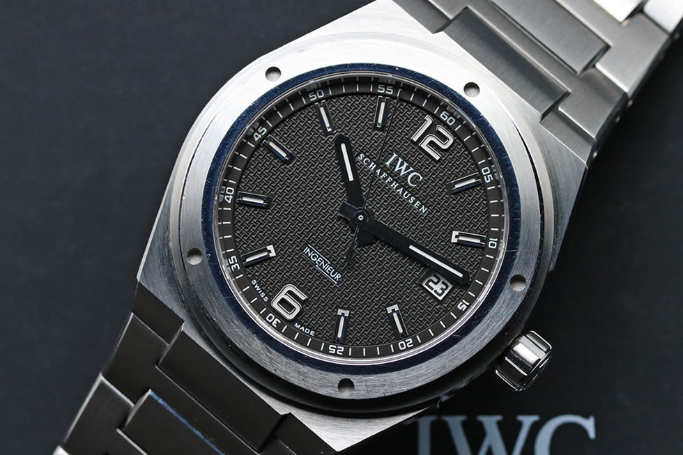 IW322701 IWC INGENIEUR AUTOMATIC S/S Black