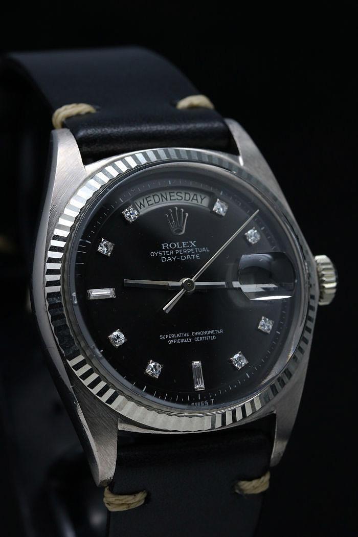 ロレックス デイデイト Ref.1803/9 ホワイトゴールド ブラックダイアル 1967年