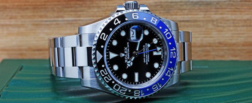 Rolex GMT MASTER II Black and Blue Ceramic (1)