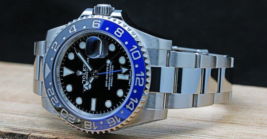 Rolex GMT MASTER II Black and Blue Ceramic (4)