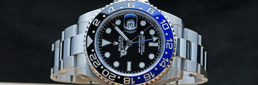Rolex GMT MASTER II Black and Blue Ceramic (5)