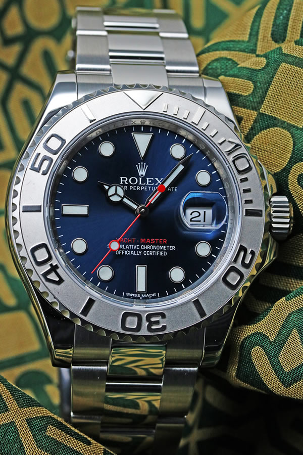 【ROLEX】YACHT MASTER BLUE DIAL Roresium