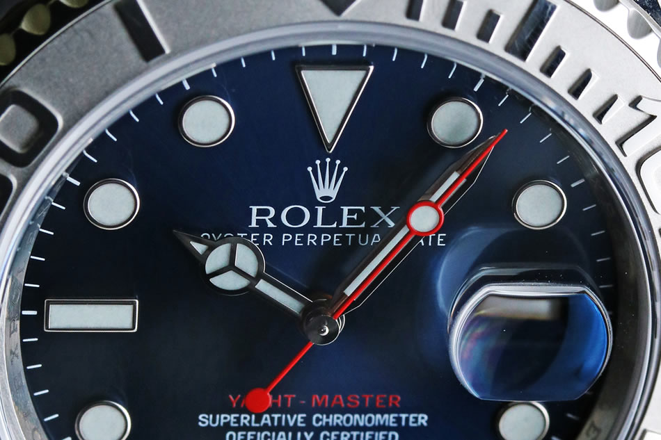 【ROLEX】YACHT MASTER BLUE DIAL Roresium Ref.116622