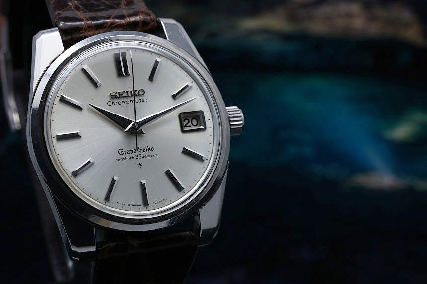 1964 made Grand Seiko second AD dial 43999 chronometer