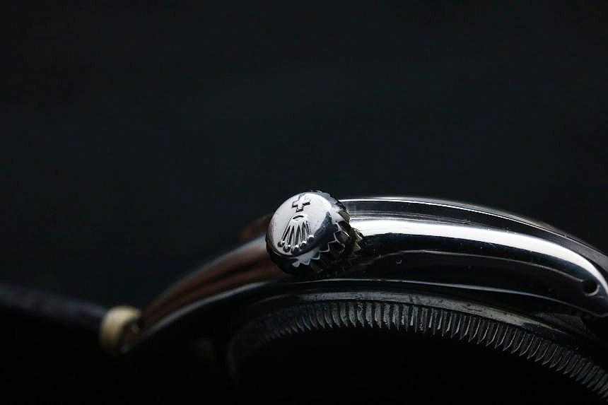 ロレックス ヴィンテージ セミバブルバック Ref.6303