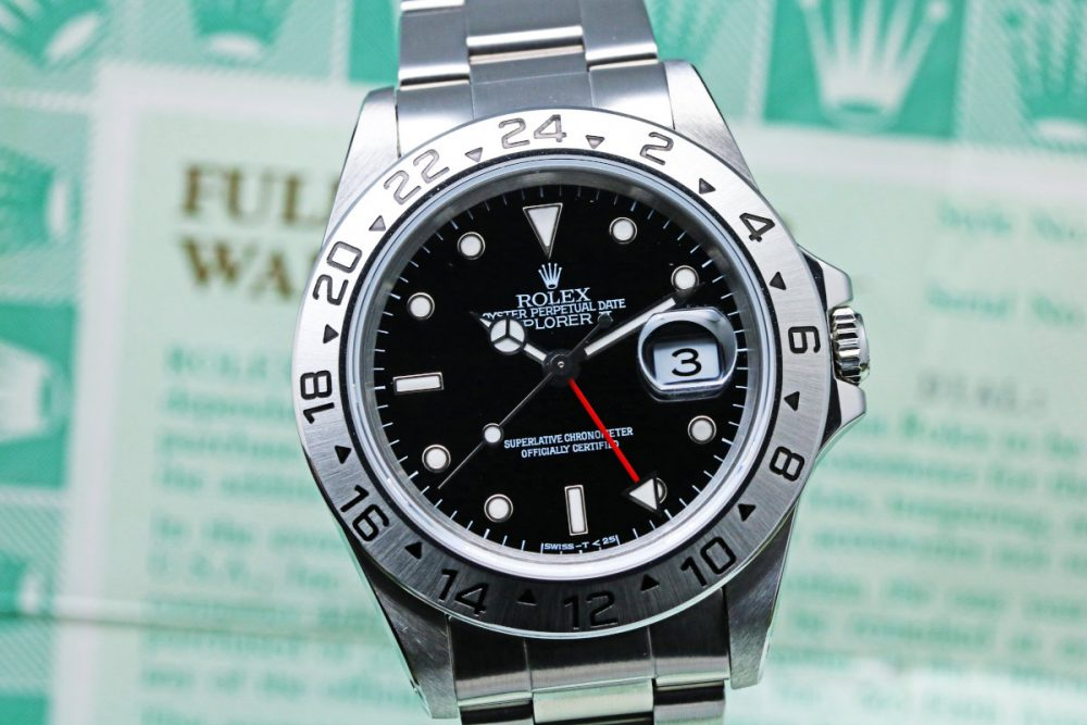 ROLEX Explorer II Ref.16570 [Serial Number:T]