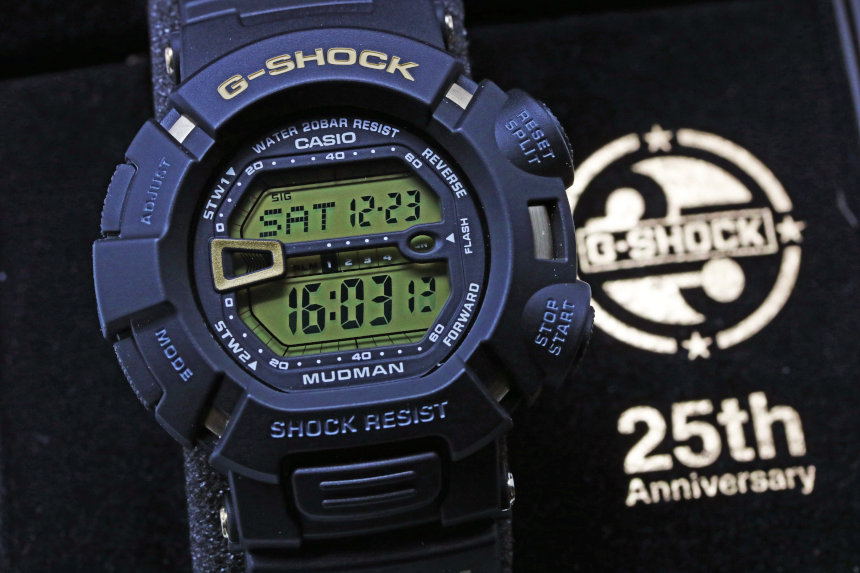 CASIO G-SHOCK 25th Anniversary「Dawn Black」MUDMAN G-9025A-1JF