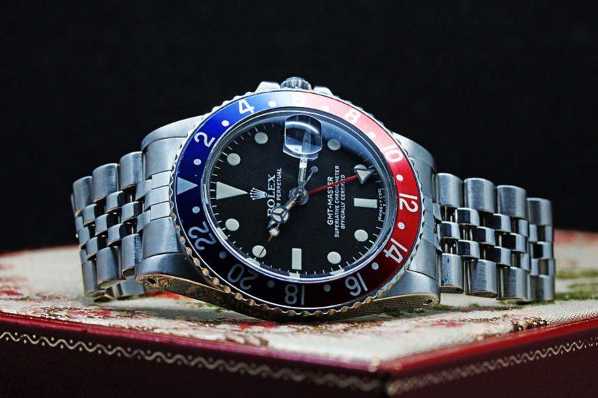 ロレックス GMTマスターI Ref.1675 MK5ダイヤル