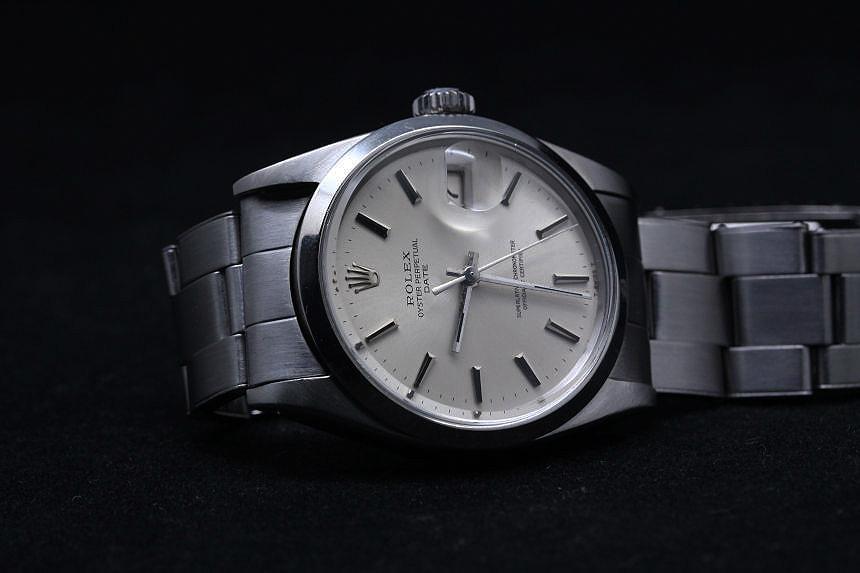 in stock e3081 2ad3b 1965年製造 オイスター パーペチュアル デイト Ref.1500 時計 ...