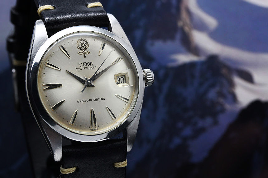 TUDOR Oyster date big rose 7962