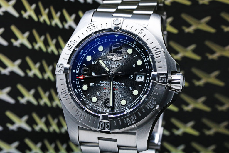 Breitling Superocean Steelfish Automatic Mens Watch A17390