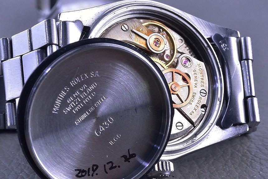 ロレックス オイスター スピードキング Ref.6430 1965 Cal.1210