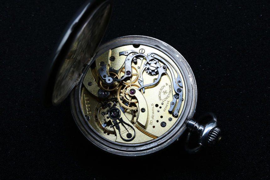 バシュロン・コンスタンタン アメリカ陸軍工兵隊 懐中時計