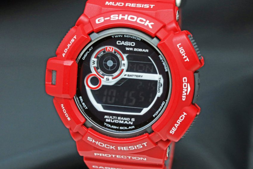 CASIO G-SHOCK MEN IN RESCUE RED GW-9300RD-4JF