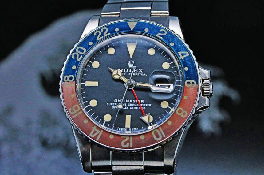 ROLEX GMT MASTER Ref.1675 Cal.1570 1970