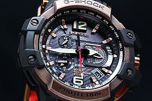 G-SHOCK gravity master GPS electric wave solar watch GPW-1000RG-1AER
