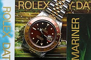ロレックス GMTマスター Ref.16753 ブラウンフジツボ(ニップル)ダイアル