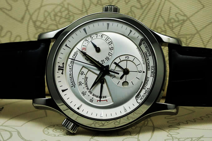 JAEGER-LECOULTRE MASTER CONTROL GEOGRAPHIC Q1428420
