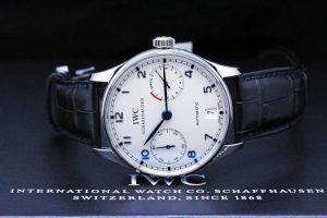 Portuguese Automatic Steel Blue Men's Watch