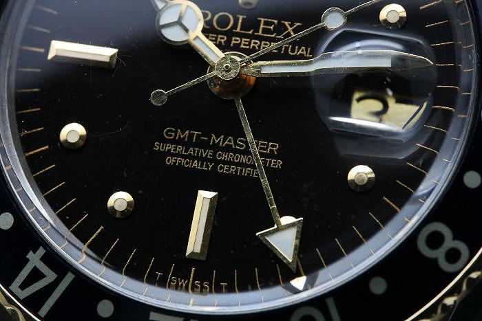 ロレックス GMTマスターI Ref.1675 フジツボ グレーチェンジ