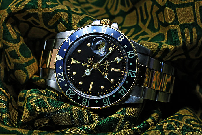 ROLEX GMT-MASTER Ref.16753 Black Nipple