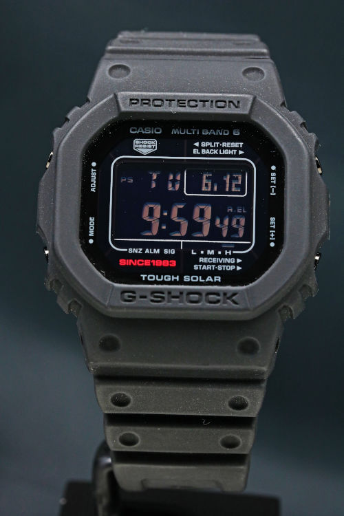 G-SHOCK 35周年記念モデル ビッグバンブラック GW-5035A-1JR