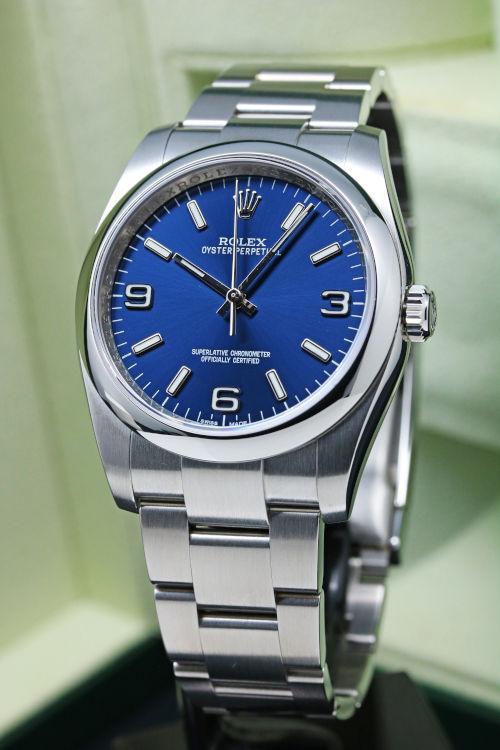 new concept d90da 5e3a4 ロレックス オイスターパーペチュアル36 Ref.116000 Cal.3130 ...