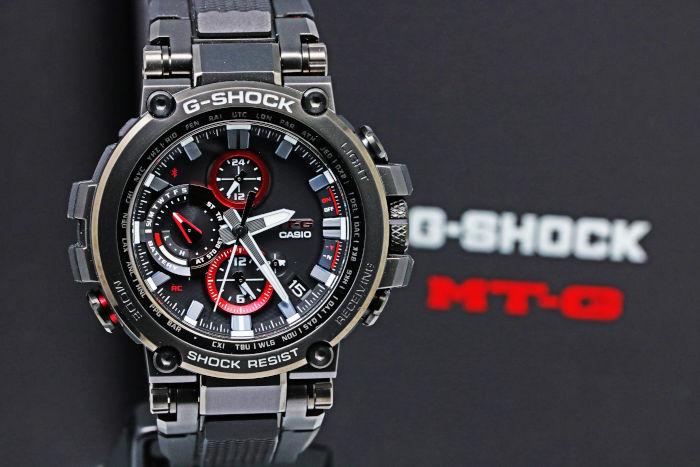 カシオ Gショック MTG-B1000B-1AJF [MT-G Bluetooth対応 電波ソーラー腕時計]
