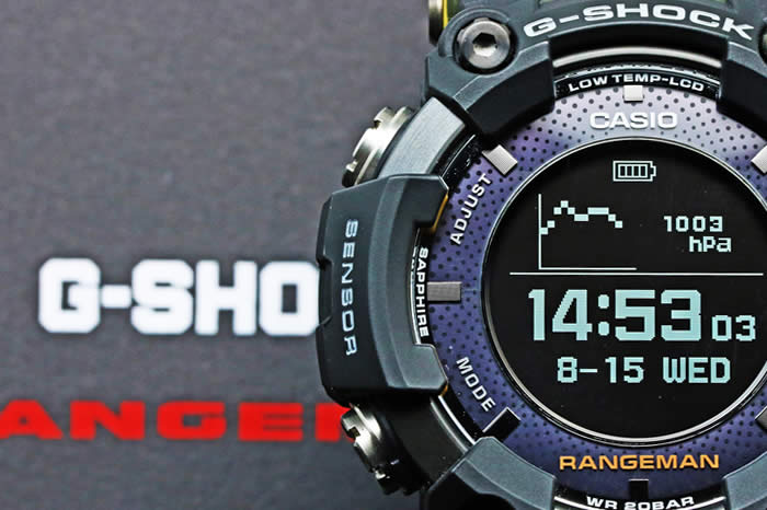 カシオ Gショック マスターオブG レンジマン GPR-B1000-1BJR