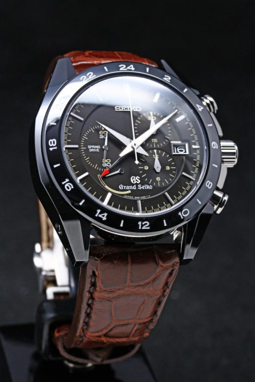 Grand Seiko Black Ceramic Limited Edition SBGC015