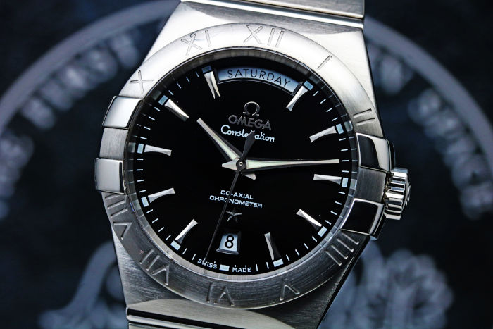 OMEGA Constellation Co-Axial Day-Date 38 123.10.38.22.01.001