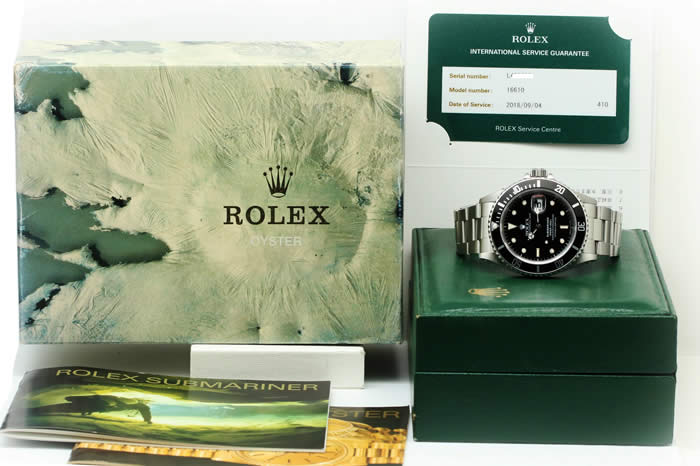 ロレックス サブマリ Ref.16610 L品番(1989年製造)
