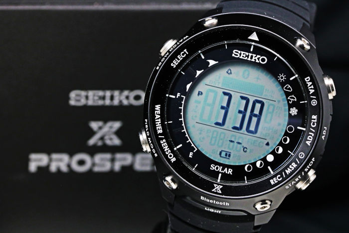 セイコー プロスペックス  ランド トレーサー  ブルートゥース 対応 SBEM003