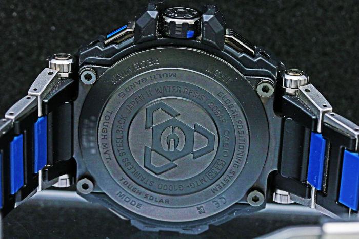 カシオ Gショック MT-G GPSハイブリッド電波ソーラー MTG-G1000RS-2AJF