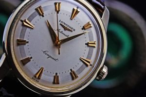 LONGINES Conquest Gold Cap Ref.9002/9 Cal.19AS 1950'S