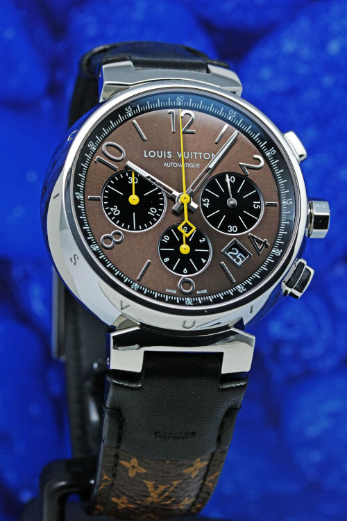 LOUIS VUITTON TAMBOUR CHRONOGRAPH Q112FZ