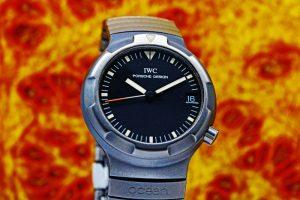 IWC PORSCHE DESIGN TITANIUM AUTOMATIC 3503.1 Cal.37522