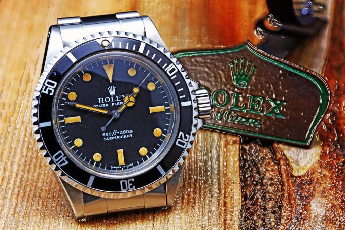 ROLEX SUBMARINER 5513 Matte Dial '68 Cal.1520 VINTAGE