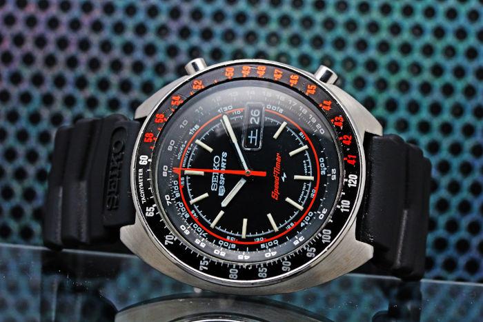 セイコー スピードタイマー ラリーメーター 7017-6050 1971年11月製造