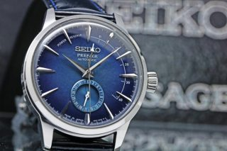 SEIKO PRESAGE STAR BAR Limited Edition SARY087