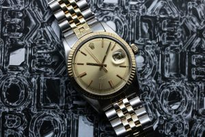 Vintage Rolex Datejust 36mm 1601 Ghost Dial