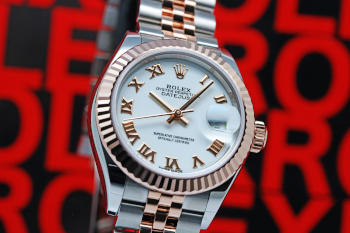 Rolex Lady Datejust 28 Chocolate/18k Everose gold 28mm – 279171