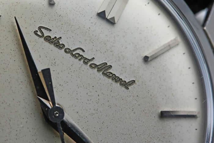 セイコー ロードマーベル ステンレスケース J14038 初期型 彫り文字盤