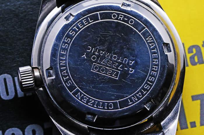 シチズン レオパール ダイバー150m 4-722710 Y Cal.7210