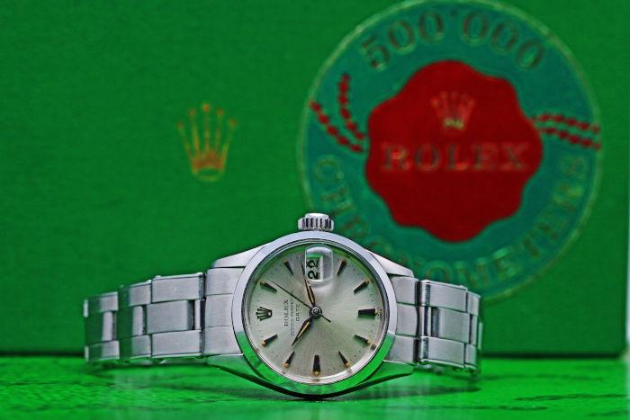 ロレックス オイスター パーペチュアル デイト Ref.6516 Cal.1130