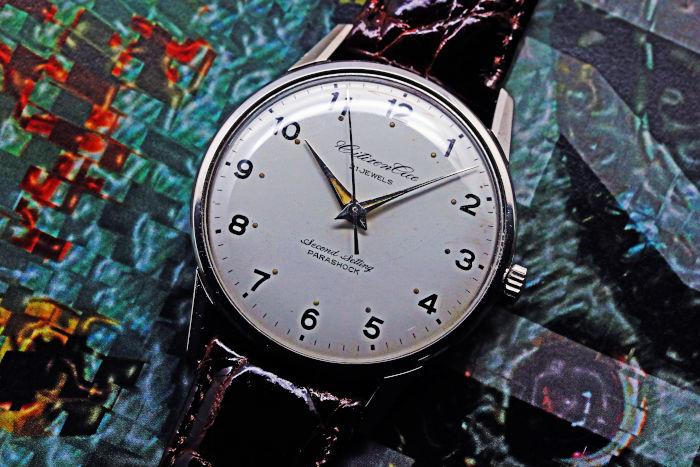 シチズン エース 鉄道時計